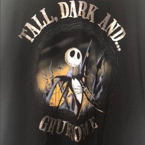 Jack Skellington Tall Dark & Gruesome T-Shirt 2XL
